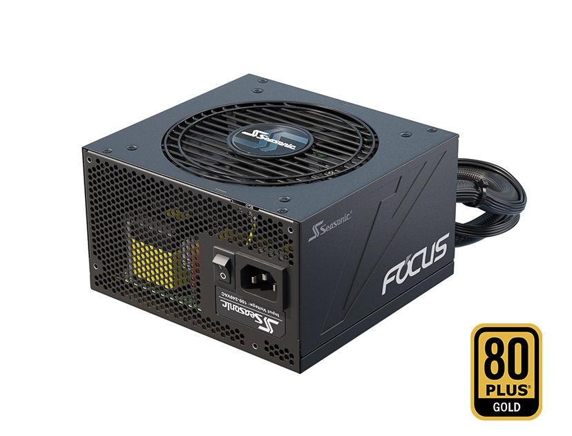 FUENTE SEASONIC FOCUS GM-850 ( SSR-850FM ) 850W | GOLD | SEMI- MODULAR