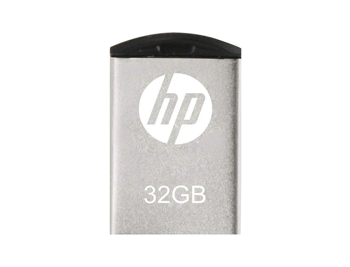 MEM. USB HP V222W 32GB ( HPFD222W-32 ) PLATA