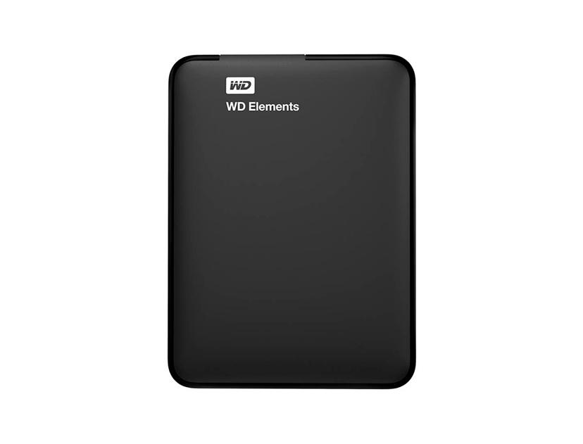 HDD EXTERNO WESTER DIGITAL 1TB ELEMENTS ( WDBUZG0010BBK-WESN ) NEGRO