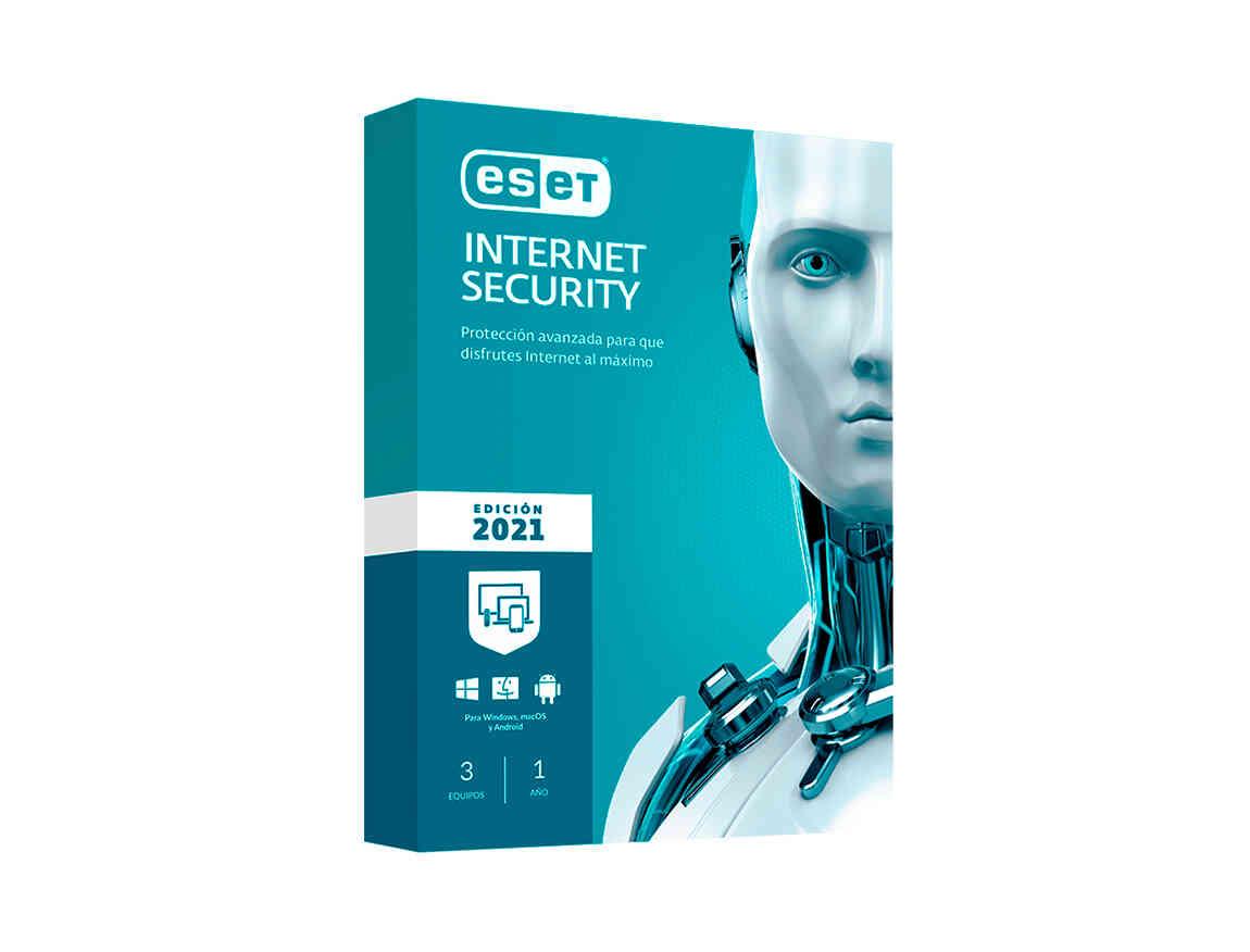 ANTIVIRUS ESET INTERNET SECURITY ( S11020169 ) 2021 | 3 PCS