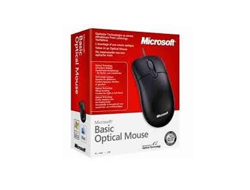 MOUSE MICROSOFT BASIC ( 4YH-00005 ) NEGRO