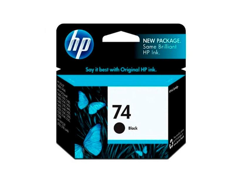 CARTUCHO HP  74 ( CB335WL ) NEGRO - C4210 / J5740 / D4260 +