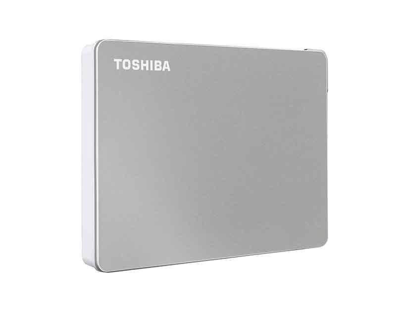 HDD  EXTERNO TOSHIBA 2TB CANVIO FLEX ( HDTX120XSCAA ) SILVER | USB 3.0 + USB-C