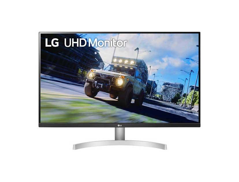 "MONITOR LG LED 31.5"" ( 32UN500-W ) 4K | 2 HDMI - DP"