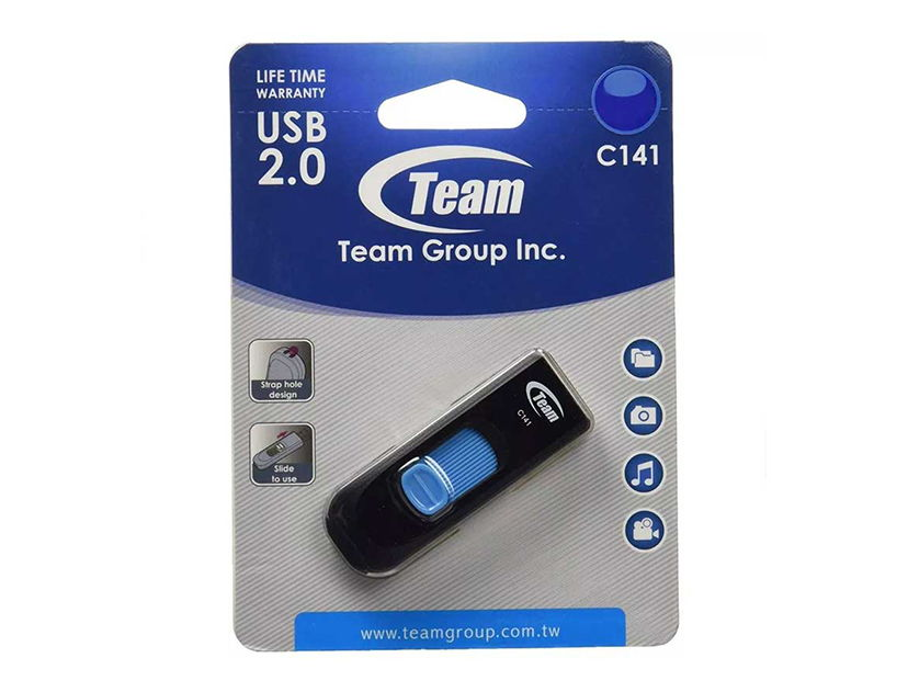 MEM. USB TEAM 16GB C141 ( TC14116GL01 ) AZUL