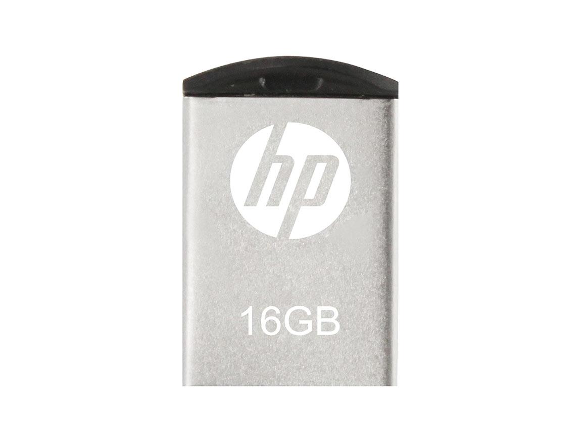 MEM. USB HP V222W 16GB ( HPFD222W-16 ) PLATA