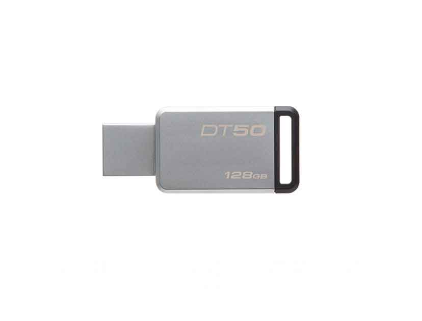 MEM. USB KINGSTON 128GB ( DT50/128GB ) DATATRAVELER 50