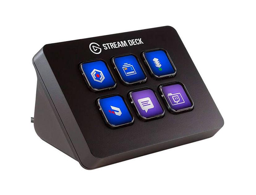 TECLADO MINI P/ STREAM DECK ELGATO ( 10GAI9901 ) 6 TECLAS LCD PERSONALIZABLES