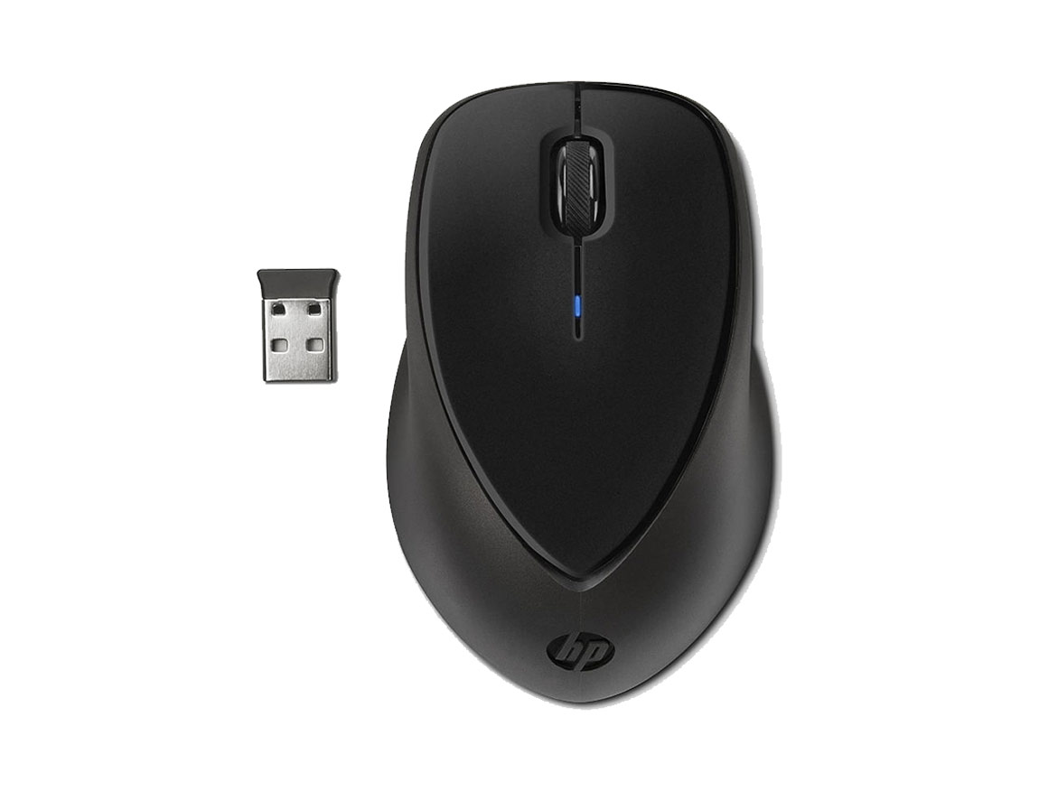 MOUSE INALAMBRICO HP COMFORT GRIP ( H2L63AA ) NEGRO