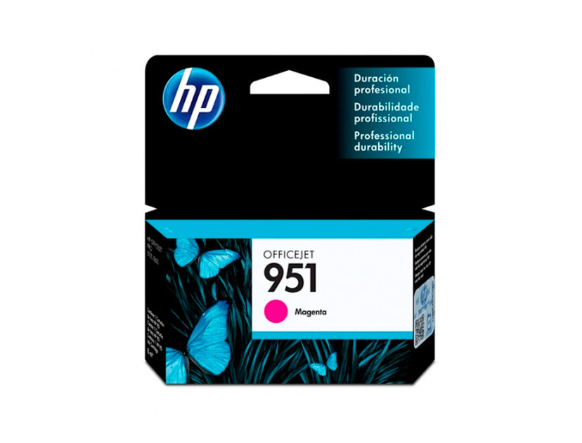 CARTUCHO HP  951 ( CN051AL ) MAGENTA - 251DW / 8100 / 8620 +