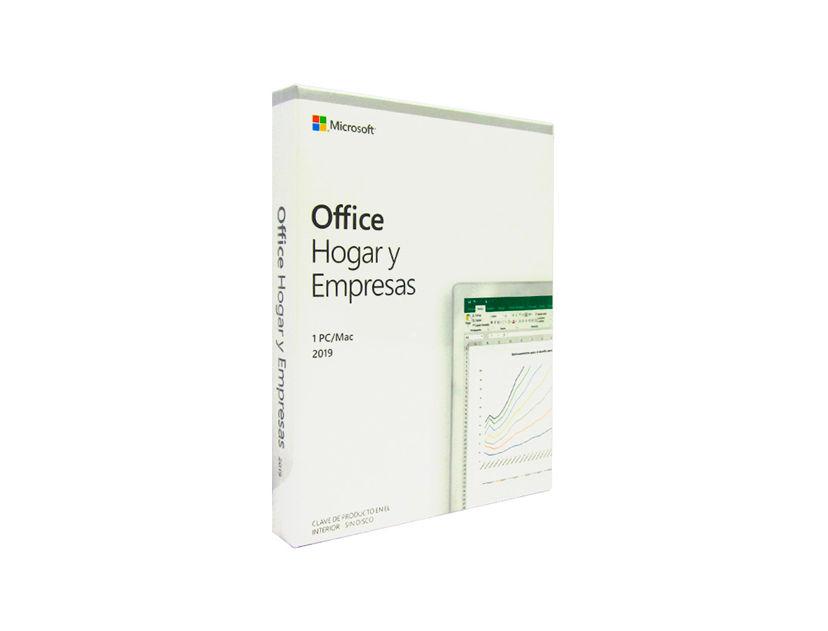 LICENCIA OFFICE HOGAR Y EMPRESAS 2019 ( T5D-03260 ) 1 PC/MAC | 64 BITS | ESPAÑOL