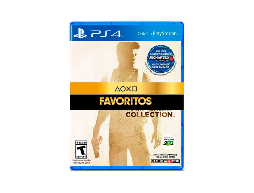 VIDEOJUEGO PLAYSTATION PS4 UNCHARTED THE NATHEN DRAKE COLLECTION ( 711719501381