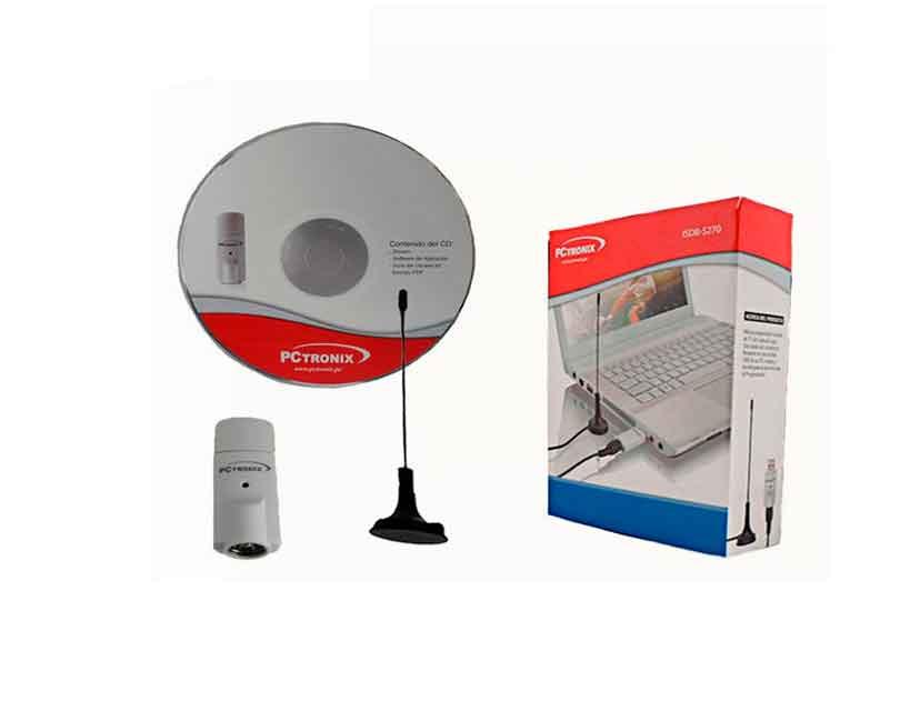 USB TV PCTRONIX ISDB-T ( ISDB-S270 ) C/ ANTENA | DIGITAL