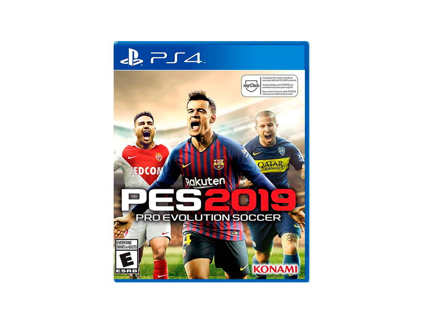 VIDEOJUEGO PLAYSTATION PS4 PES2019 PRO EVOLUTION SOCCER ( 711719523895 )