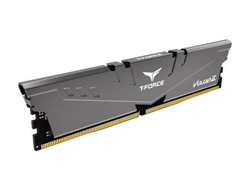 MEM. RAM TEAMGROUP T-FORCE VULCAN Z DDR4 8GB/3000 ( TLZGD48G3000HC16C01 ) NEGRO C/ GRIS