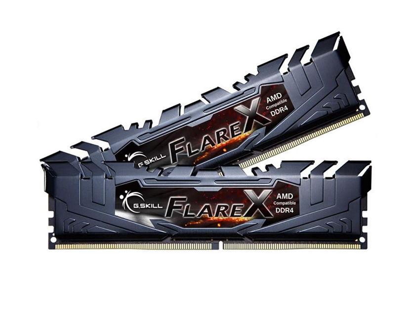 MEM. RAM G.SKILL FLARE X DDR4 16GB(2X8)/3200 ( F4-3200C16D-16GFX ) NEGRO