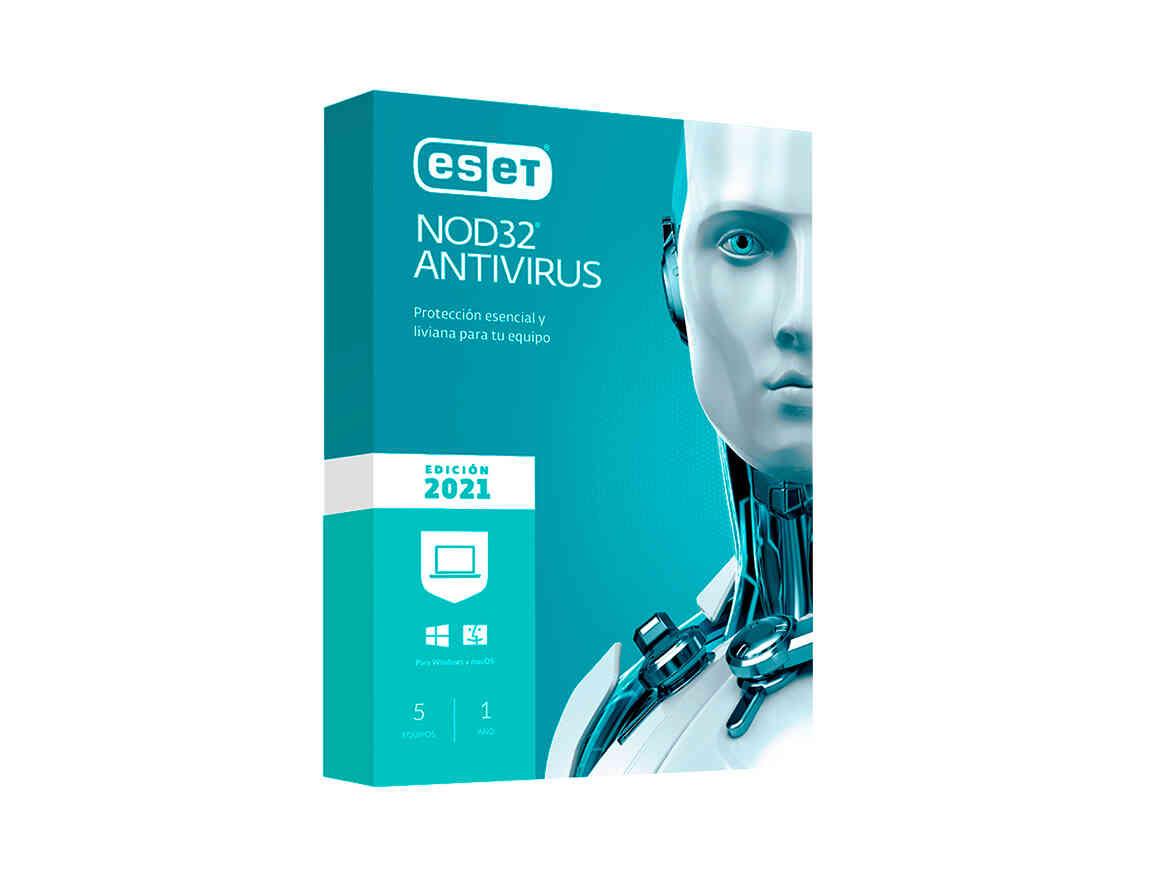 ANTIVIRUS ESET NOD 32 ( S11010189 ) 2021 | 5 PCS