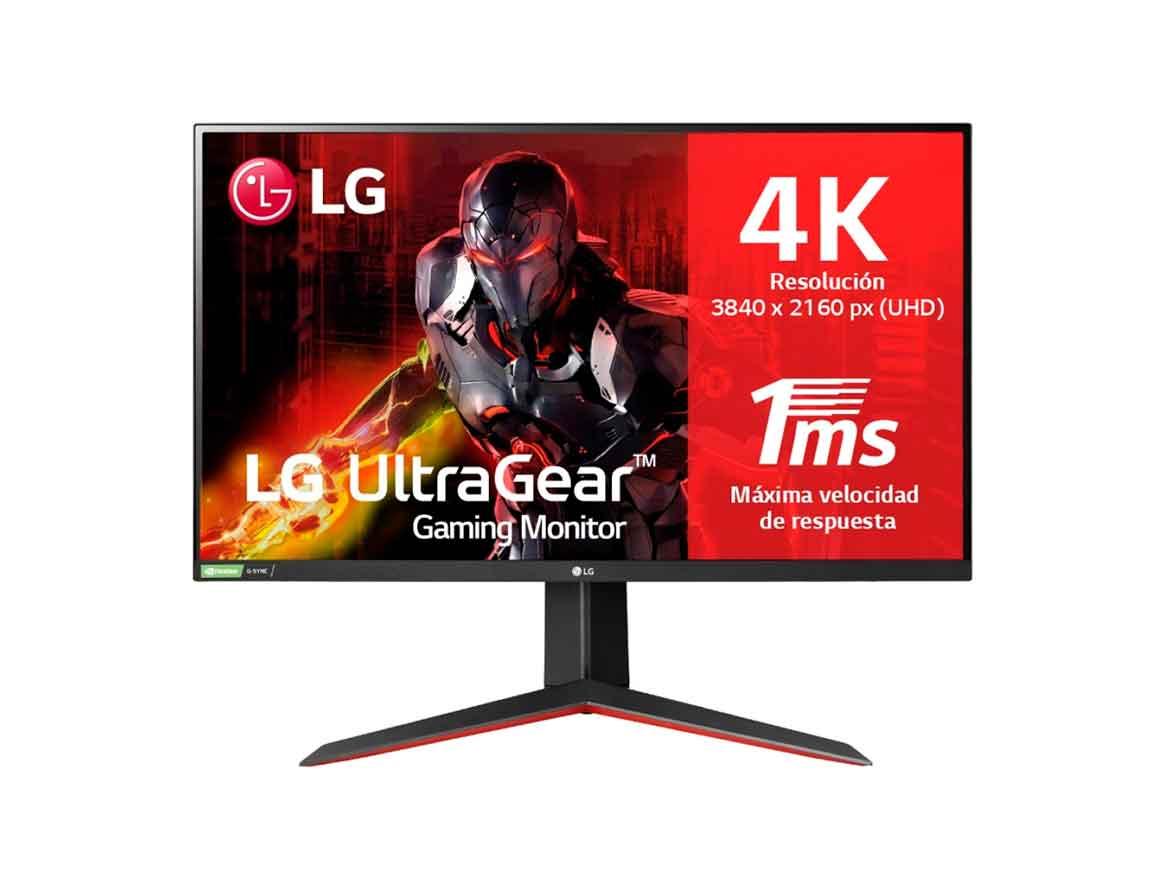 "MONITOR LG LED 27"" ULTRAGEAR ( 27GN950-B ) GAMING | HDMI 2 - DP - USB | 1MS | 144HZ"