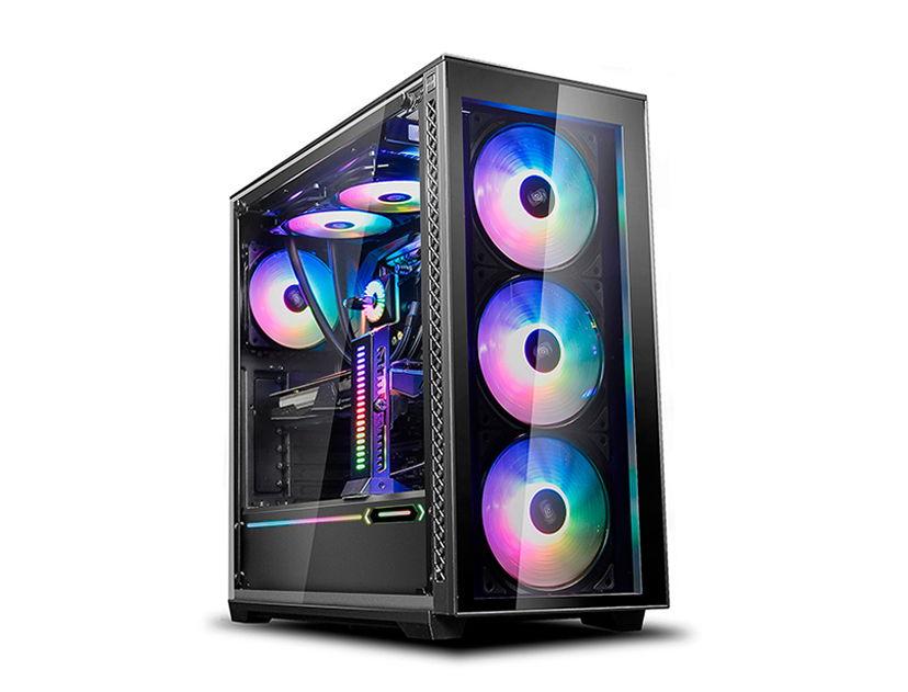 CASE DEEP COOL MATREXX 70 ( DP-ATX-MATREXX70-BKG0P ) S/ FUENTE | NEGRO | 1 PANEL