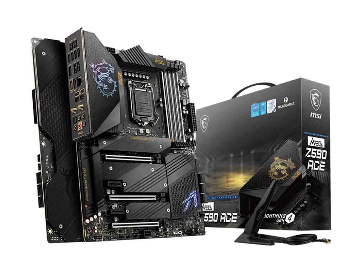 MB MSI MEG Z590 ACE ( MEG Z590 ACE ) LGA 1200 | LED - RGB