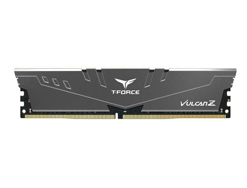 MEM. RAM TEAMGROUP T-FORCE VULCAN Z DDR4 8GB/3200 ( TLZGD48G3200HC16C01 ) NEGRO C/ GRIS