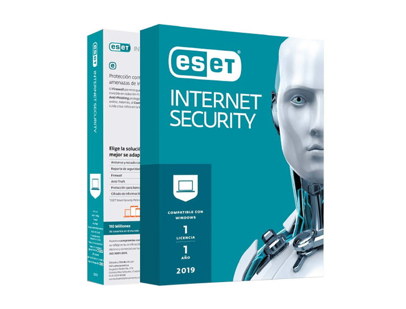 ANTIVIRUS  ESET INTERNET SECURITY ( S11020156 ) 2019 | 3 PCS | 12 MESES