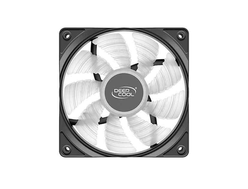 COOLER PARA CASE DEEP COOL RF120R ( DP-FLED-RF120-RD ) 120MM | LED- ROJO