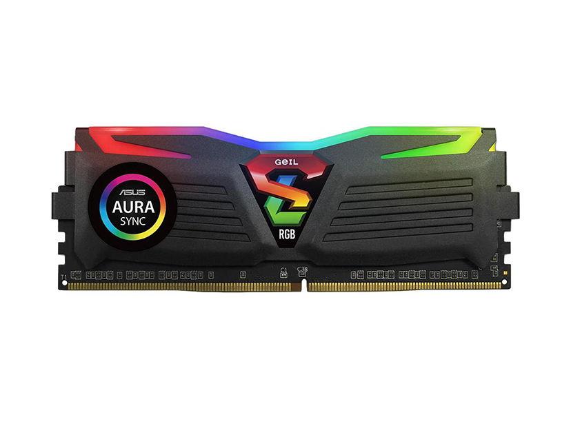 MEM. RAM GEIL SUPER LUCE DDR4 8GB/3200 ( GALS48GB3200C16ASC ) LED- RGB