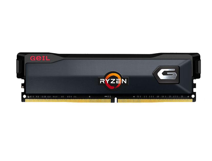 MEM. RAM GEIL ORION DDR4 8GB/3200 ( GAOG48GB3200C16ASC ) NEGRO