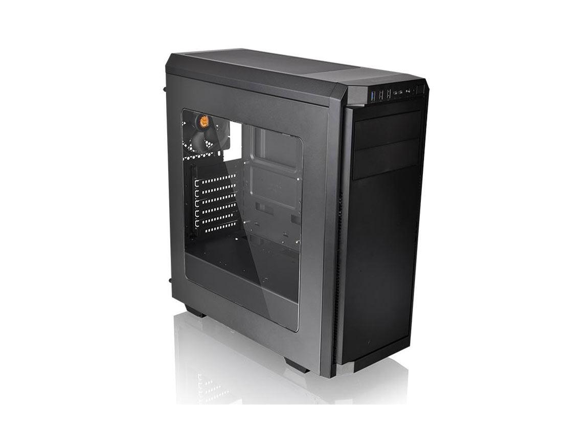CASE THERMALTAKE V100 WINDOW ( CA-1K7-00M1WN-00 ) S/ FUENTE | NEGRO | 1 VENTANA