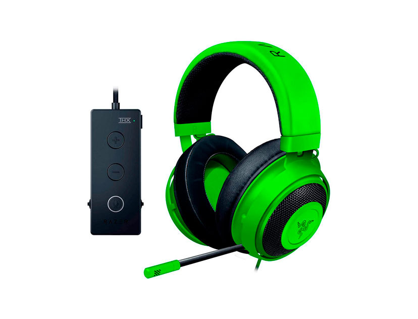 AURICULAR RAZER KRAKEN ( RZ04-02051100-R3U1 ) GAMING | VERDE | TOURNAMENT EDITION