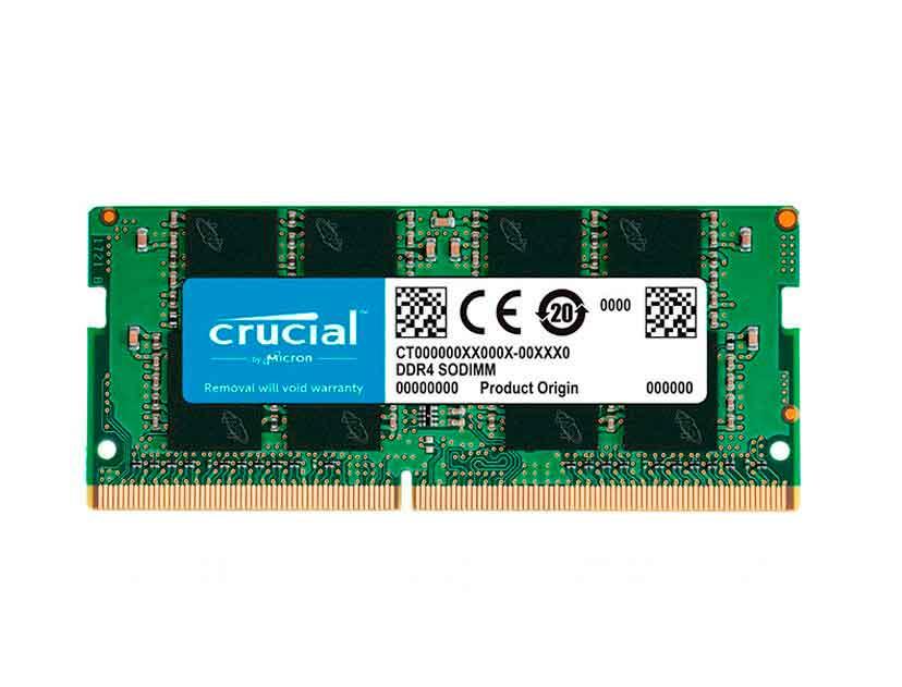 MEM. SODIMM CRUCIAL DDR4 8GB/2666 ( CT8G4SFS8266 )