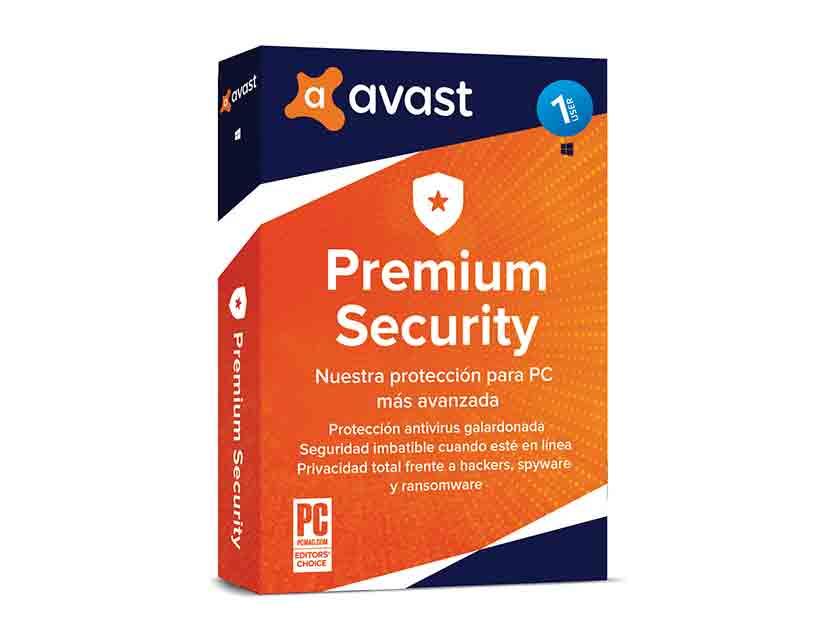 ANTIVIRUS  AVAST INTERNET SECURITY ( 1USER ) 1 PC | 12 MESES