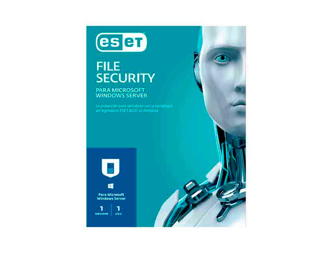 ANTIVIRUS ESET FILE SECURITY ( S11010175 ) 2020 | 1 SERVIDOR | 12 MESES