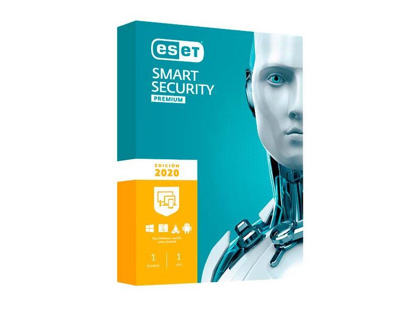 ANTIVIRUS  ESET SMART SECURITY PREMIUM ( S11030107 ) 2020 | 1 PCS | 12 MESES