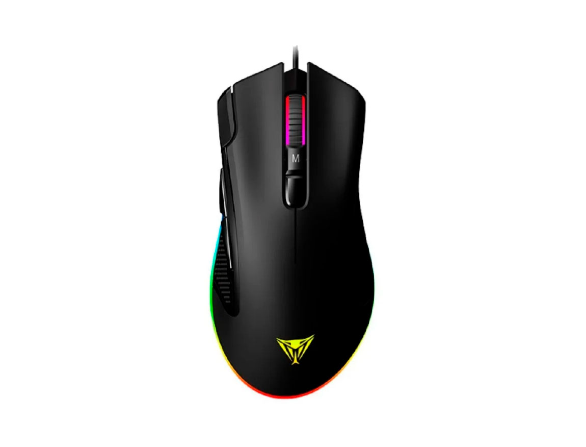 MOUSE PATRIOT VIPER V551 ( PP000253-PV551OUXK ) GAMING | LED- RGB