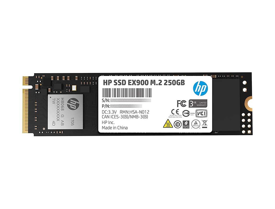 SSD  M.2 SOLIDO HP EX900 250GB ( 2YY43AA#ABC ) NVME