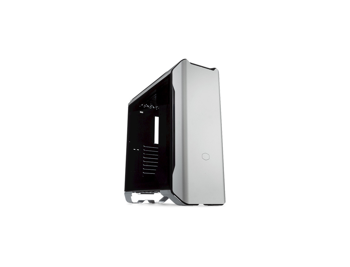 CASE COOLER MASTER MASTERCASE SL600M ( MCM-SL600M-SGNN-S00 ) S/ FUENTE | PLATA | 1 PANEL VIDRIO