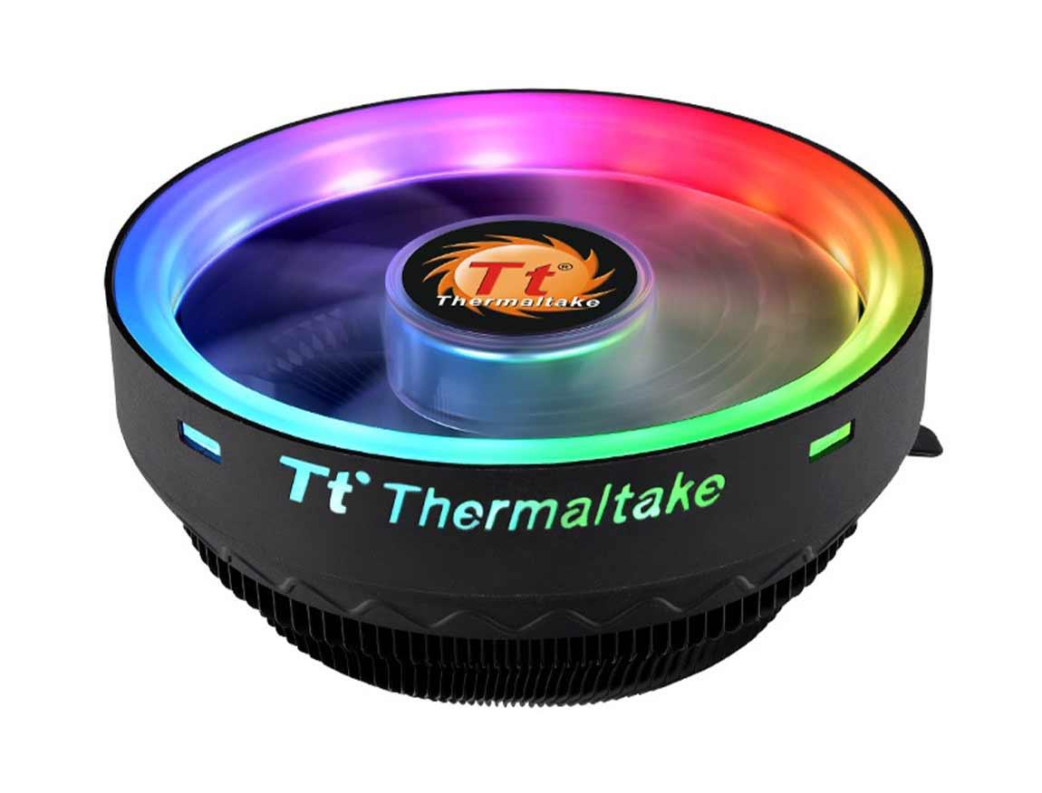 COOLER PROC. THERMALTAKE UX100 ( CL-P064-AL12SW-A ) 120MM | LED-RGB