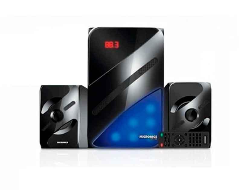 SUBWOOFER MICRONICS MIRAGE ( MIC S7008BT ) 80 WATTS | USB+SD+FM