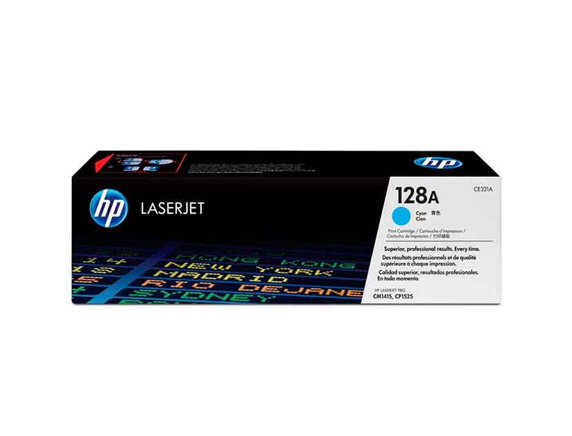 TONER HP 128A ( CE321A ) LASERJET | CM1415 | CP1525 | CIAN