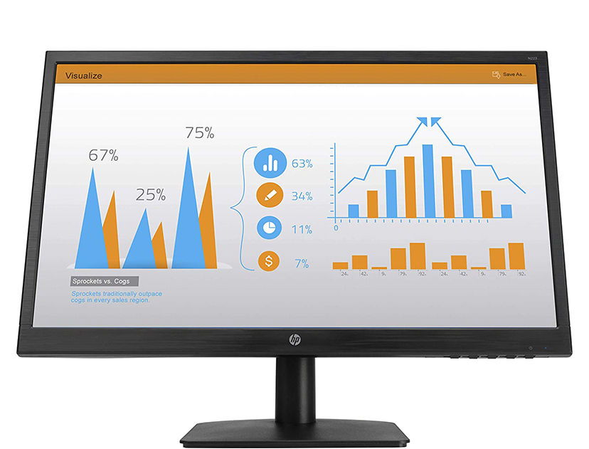 MONITOR HP N223 21.5 ( 3ML60AAABA ) VGA - HDMI