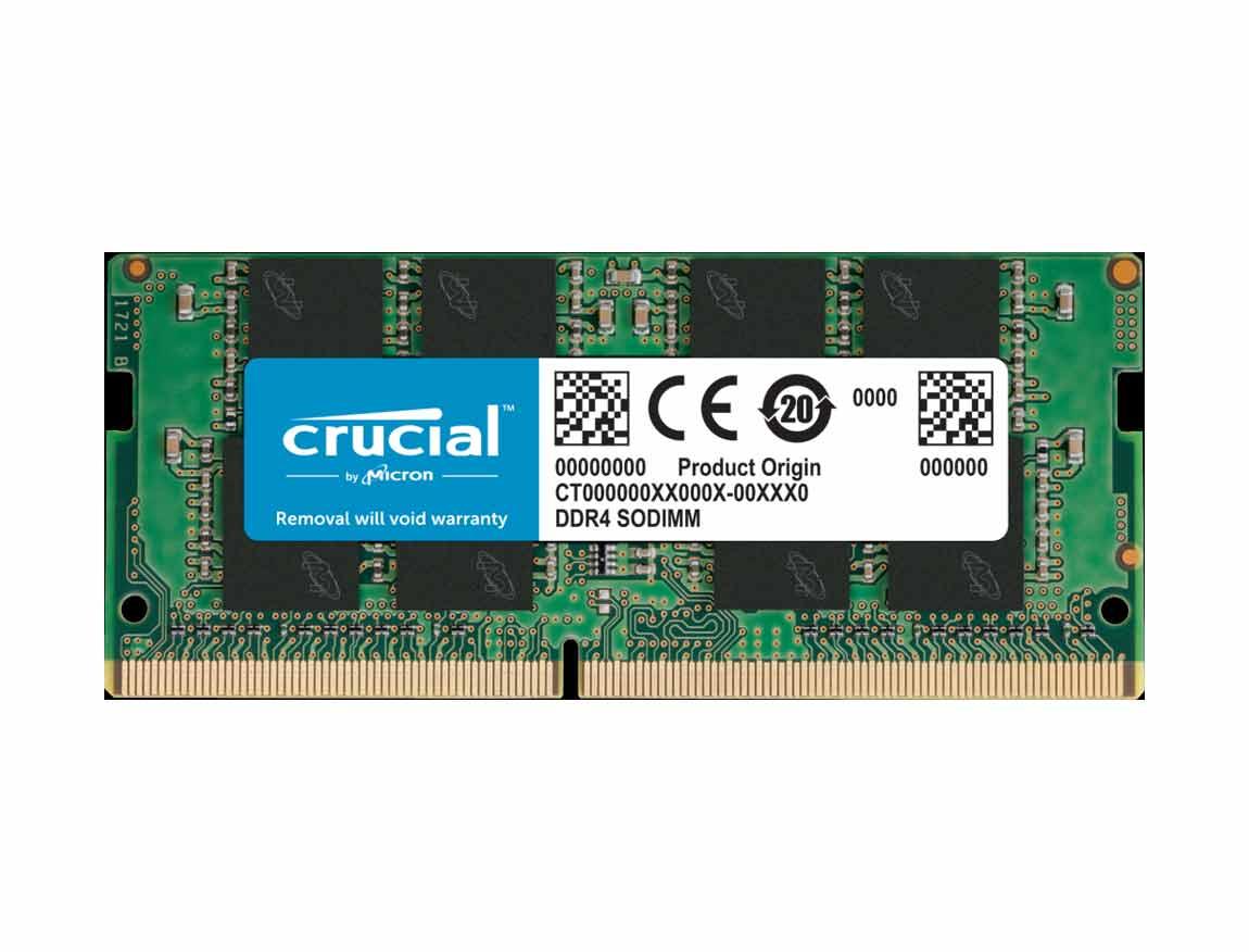 MEM. SODIMM CRUCIAL DDR4 16GB/2666 ( CT16G4SFRA266 )