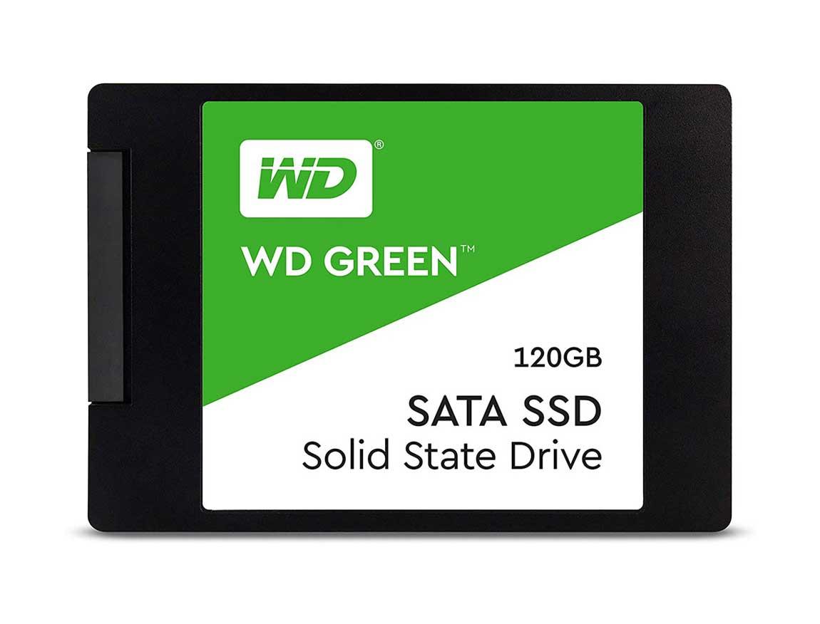 SSD SOLIDO WESTERN DIGITAL 120GB ( WDS120G2G0A-00JH30 ) VERDE