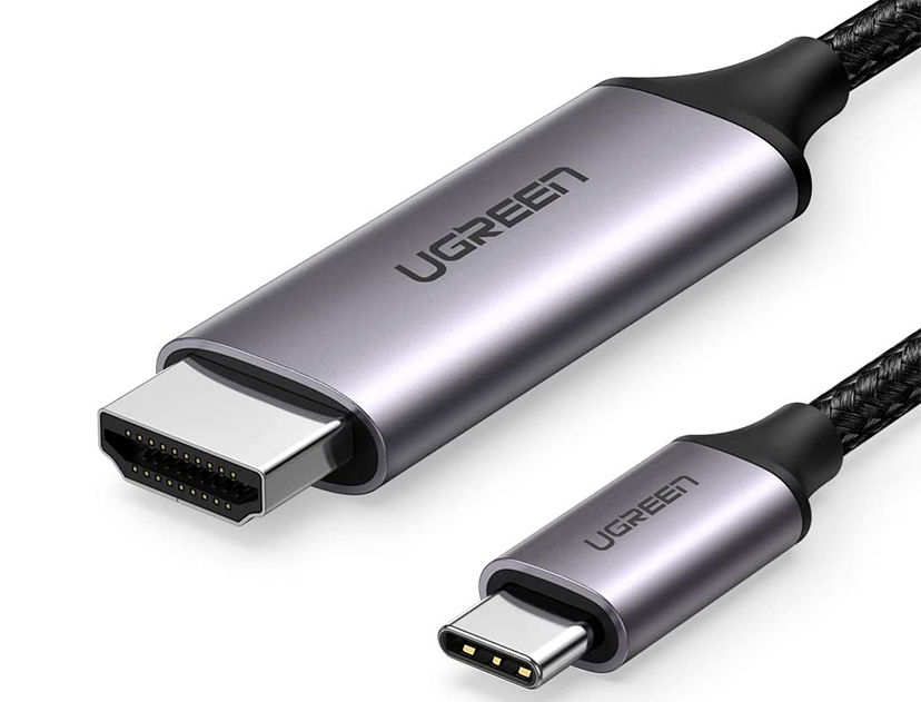 CABLE ADAPTADOR UGREEN  [ CABLE USB-C - A - HDMI ] ( 50571 ) 2 METROS
