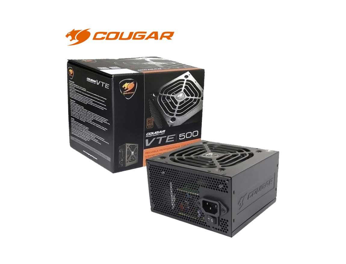 FUENTE COUGAR VTE500 ( CGR BS-500 ) 500W | BRONZE