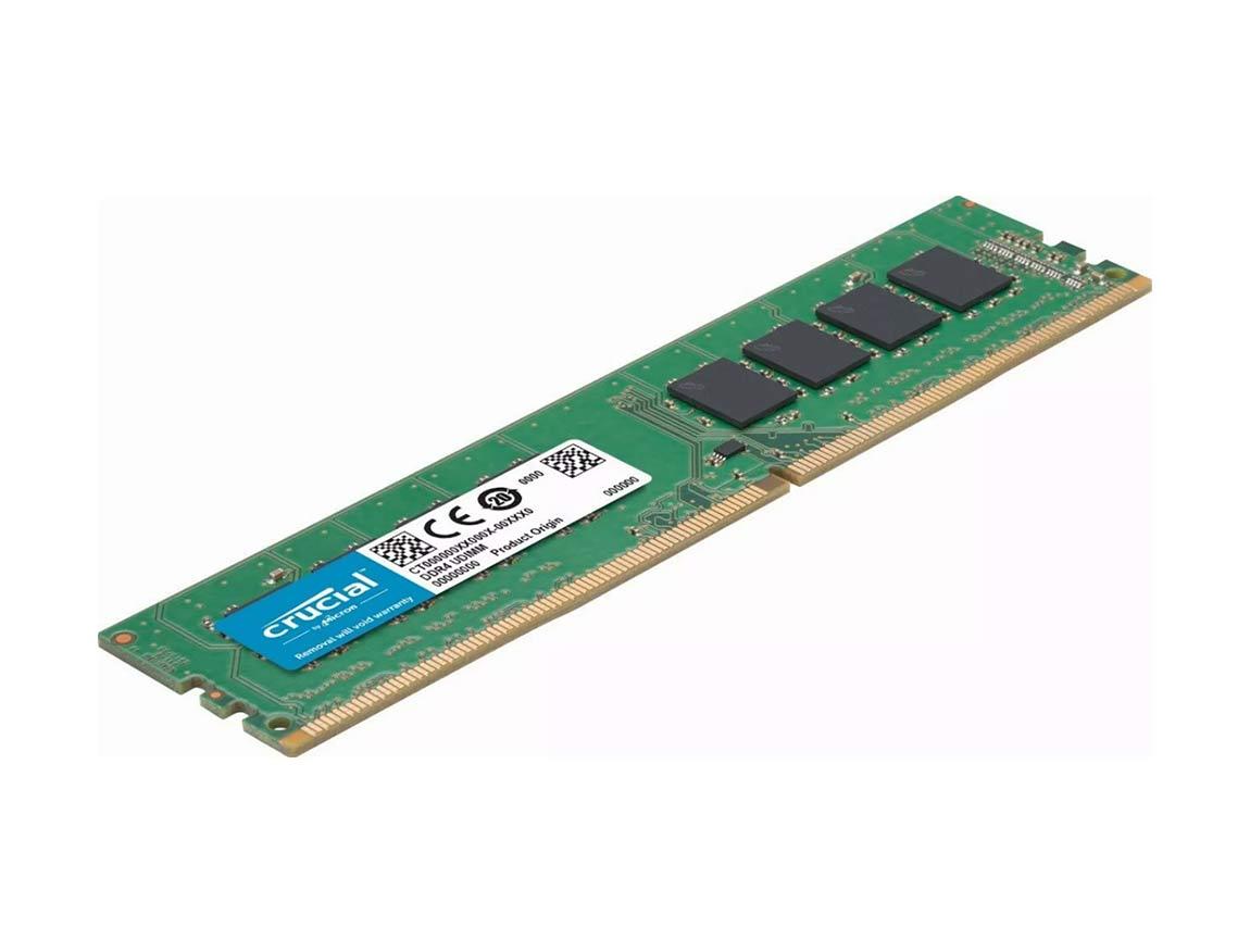 MEM. RAM CRUCIAL UDIMM DDR4 8GB/3200 ( CT8G4DFRA32A ) VERDE