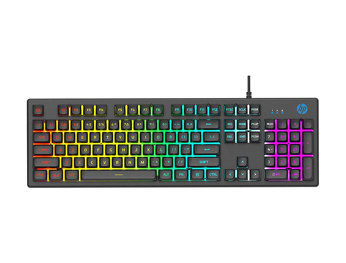 TECLADO HP K500F ( 7ZZ97AA#ABM ) GAMING | LED - RGB
