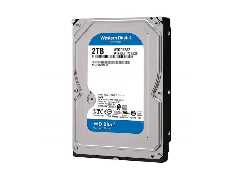 HDD WESTER DIGITAL 2TB ( WD20EZAZ ) AZUL | 256MB | 5400RPM