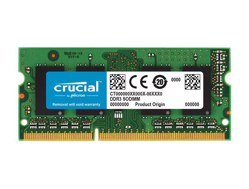 MEM. SODIMM CRUCIAL DDR3 4GB/1600 ( CT51264BF160BJ )